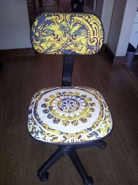 Inside Out Interiors Style Sunday: Office Chair Recycle 1 Feb